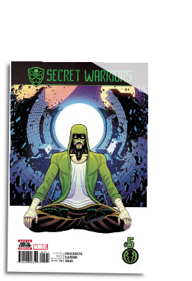 Secret Warriors #  5 (Marvel Comics 2017)