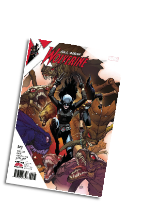 All-New Wolverine # 23 (Marvel Comics 2017)