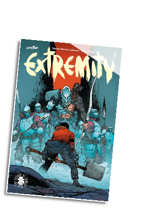 Extremity #  3 (Skybound Comics 2017)