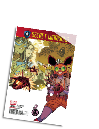 Secret Warriors #  2 (Marvel Comics 2017)