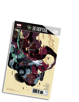 Deadpool, volume 4 # 34 (Marvel Comics 2017)