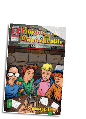 Knights of the Dinner Table # 249 (Kenzer and Company 2017)