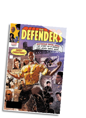 Defenders #  6 LH Variant (Marvel Comics 2017)
