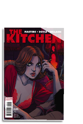 Kitchen # 4 (Vertigo Comics 2014)