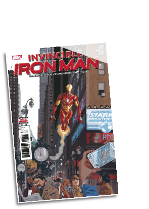 Invincible Iron Man, volume 3 #  9 (Marvel Comics 2017)