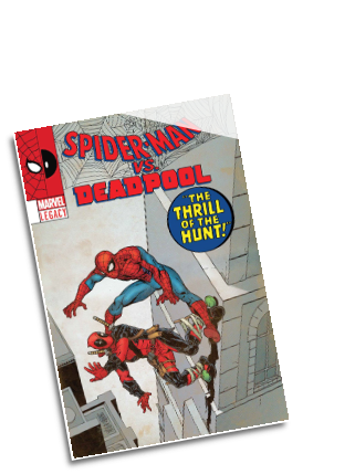 Spider-Man/Deadpool # 23 (Marvel Comics 2016) Lenticular Cover