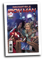 Invincible Iron Man, volume 3 #  8 (Marvel Comics 2017)