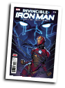 Invincible Iron Man, volume 3 # 10 (Marvel Comics 2017)