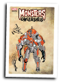 Monsters Unleashed #  4 of 4 (Marvel Comics 2017) Monster Variant