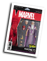 Uncanny X-Men #  4 (Marvel Comics 2018) Christopher Action Figure Variant