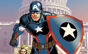 Captain America in Avenger Comic Books