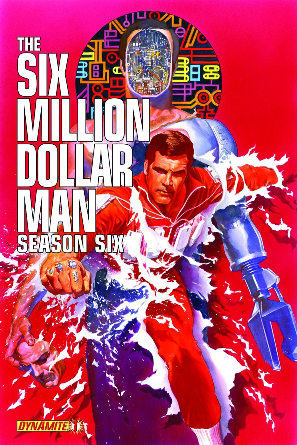 Six Million Dollar Man comic book